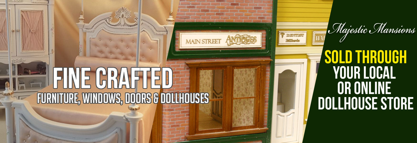 Majestic Mansions is a Dollhouse kit manufacturer based in Georgia just 45 minutes from Atlanta. & Dollhouse Kits Fine Furniture Windows u0026 Doors - Majestic Mansions