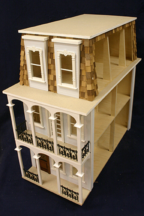 Dollhouse From The French Quarter St Charles Side Open