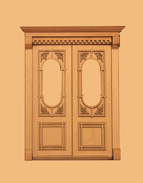 Dollhouse Miniature 1:12 Window /& Door Trim